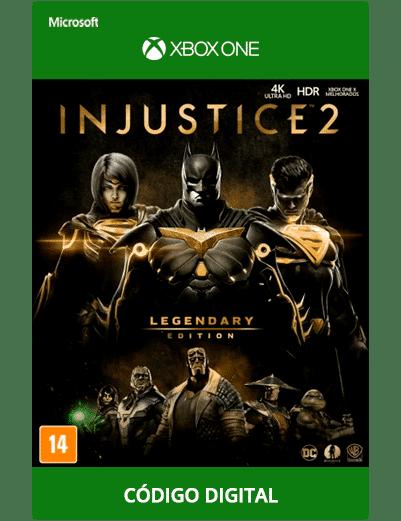 Injustice 2 Legendary Edition Xbox One Codigo 25 Digitos