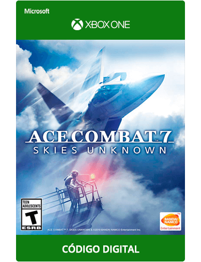 Ace-Combat-7-Xbox-One-código-25-digitos