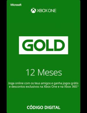 Xbox Live Gold 12 Meses Codigo 25 Digitos