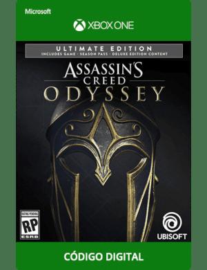 Assassin's-Creed-Odyssey-Ultimate-Xbox-One-código-de-25-digitos