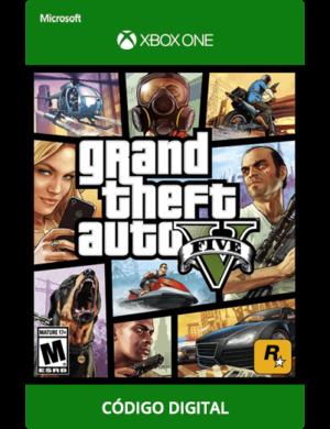 GTA-V-Xbox-One-Codigo-25-digitos