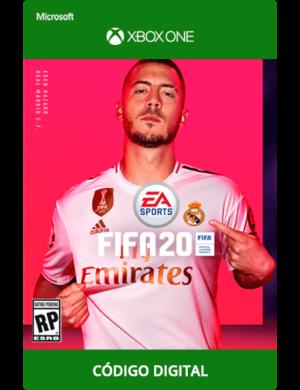 Fifa-20-Xbox-One-Código-25-Dígitos