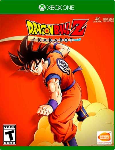 Dragon Ball Z Kakarot Xbox One Midia Digital
