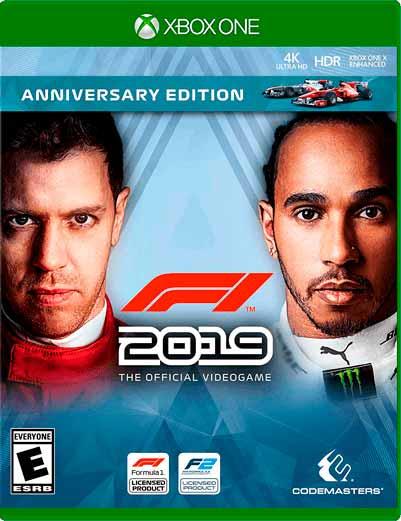 F1 2019 Mídia Digital Xbox One