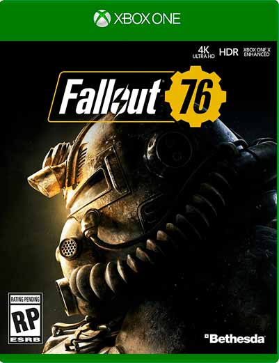 Fallout 76 Xbox One Mídia Digital