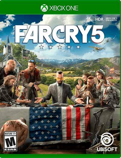 Far Cry 5 Xbox One Mídia Digital