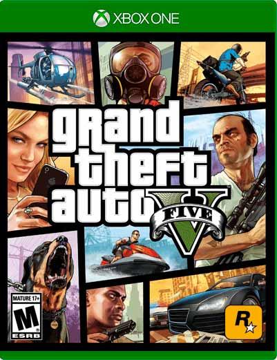 GTA V Xbox One Mídia Digital