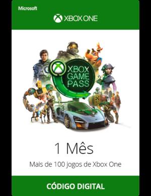 Xbox Game Pass 1 Mês Código Digital