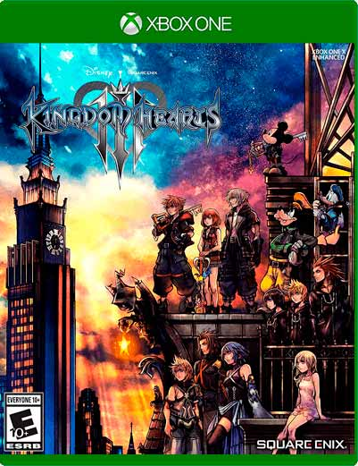 Kingdom Hearts III Xbox One Mídia Digital
