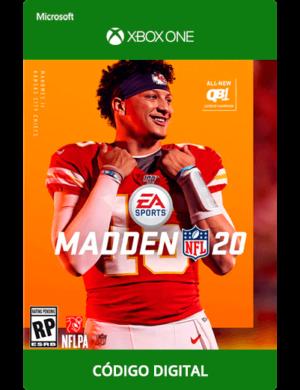 Madden NFL 20 Xbox One Código