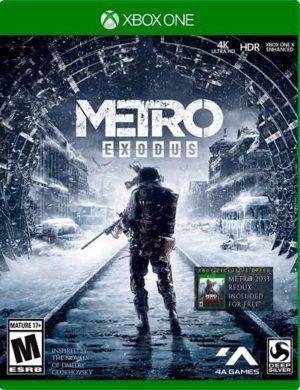 Metro Exodus Xbox One Mídia Digital