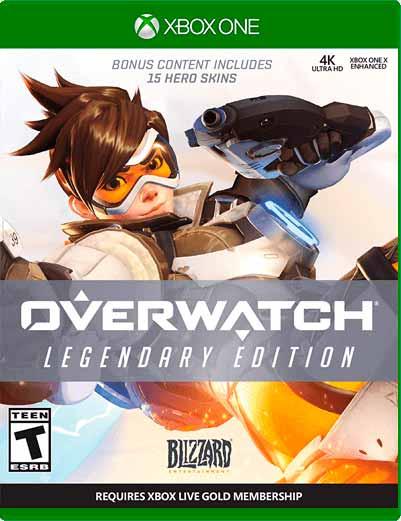 Overwatch Legendary Xbox One Mídia Digital