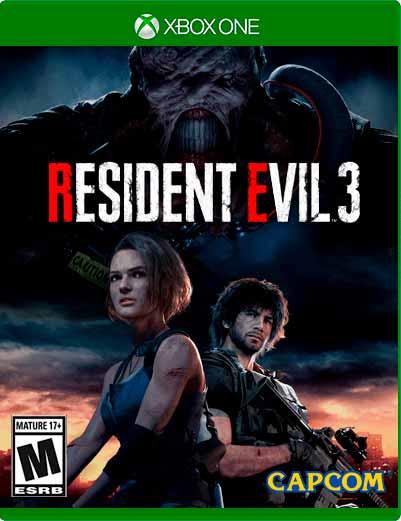 Resident Evil 3 Xbox One Mídia Digital
