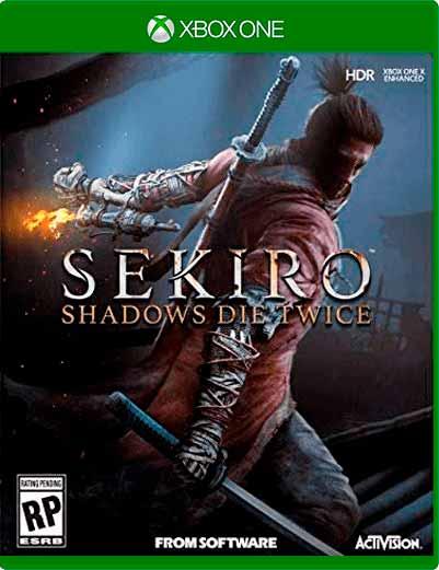 Sekiro Shadows Die Twice Xbox One Mídia Digital
