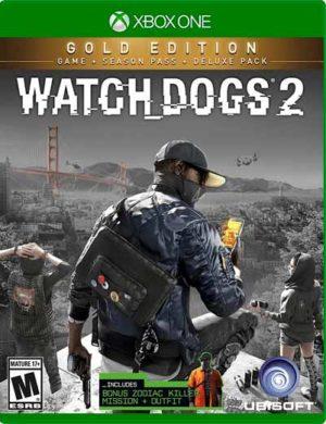 Watch Dogs 2 Gold Xbox One Mídia Digital