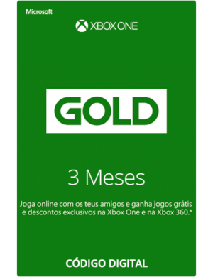 Xbox Live Gold 3 Meses Código 25 Dígitos