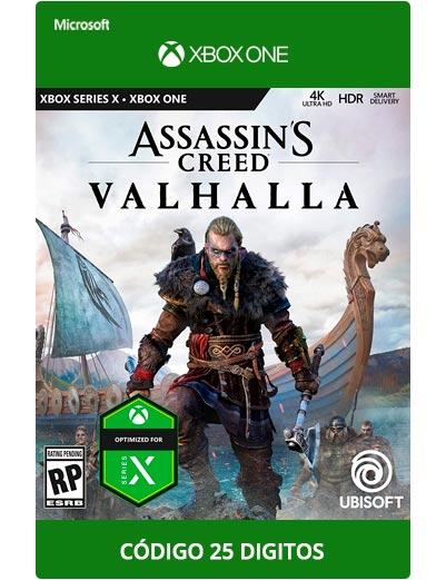 Assassin's-Creed-Valhalla-Xbox-One-Codigo-25-Digitos