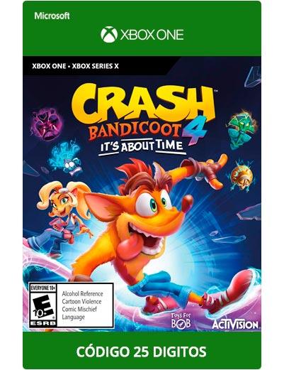 Crash-Bandicoot-4-Xbox-One-Codigo-25-Digitos