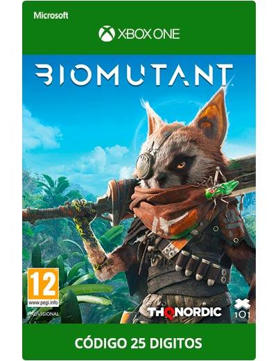 Biomutant-Xbox-One-Codigo-25-digitos